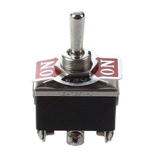 Kippschalter Schalter 20A 12V Ein/Aus/Ein Schalter ON/OFF/ON Schalter NEU