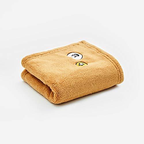 CMZ Toalla Absorbente Fuerte y Seca Toalla para el Cabello seco Toalla de Microfibra para la Cara Toalla Bordada Suave y sólida (35x75 cm)