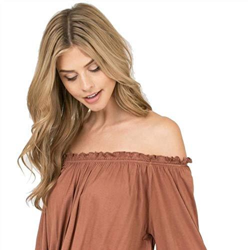 Gros cheveux bouclés longs ondulés brun doré, 60cm, cheveux artificiels, soie haute température à fibres chimiques, utilisé pour le quotidien des femmes