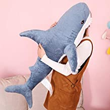 EXTOY 100Cm Russian Giant Shark Plush Toy Sofa Cushion Stuffed Animal Doll Girl Kids Photo Props Peluche Brinque Valentine Gift Must Haves Child Gifts Girls Favourite Characters 4T Superhero