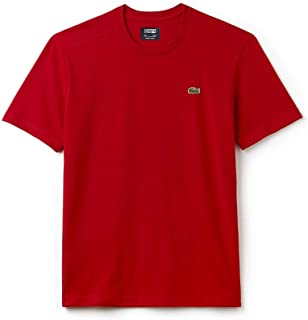 Lacoste Men's Basic Crew Neck Sport T-Shirt