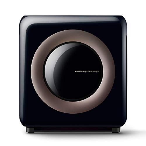 Coway Airmega AP-1512HHS (AP-1519P) Wi-Fi Enabled Smart Air Purifier, 16.8 x 18.3 x 9.6, Black (Renewed)