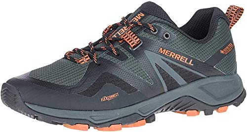 Merrell MQM Flex 2 GTX, Zapatillas Deportivas Hombre, Burnt/Granite, 45 EU