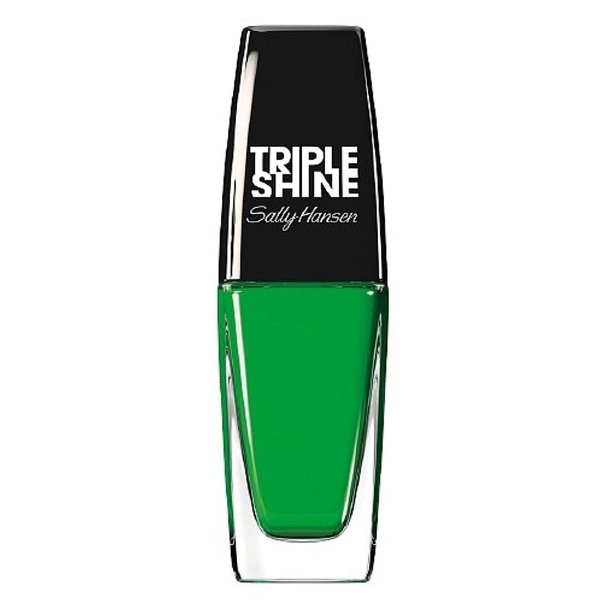 ロゴセミナー貨物SALLY HANSEN Triple Shine Nail Polish - Kelp Out (並行輸入品)