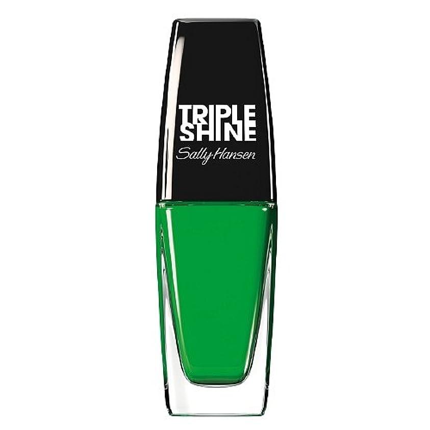 スライムフルーティーオデュッセウスSALLY HANSEN Triple Shine Nail Polish - Kelp Out (並行輸入品)