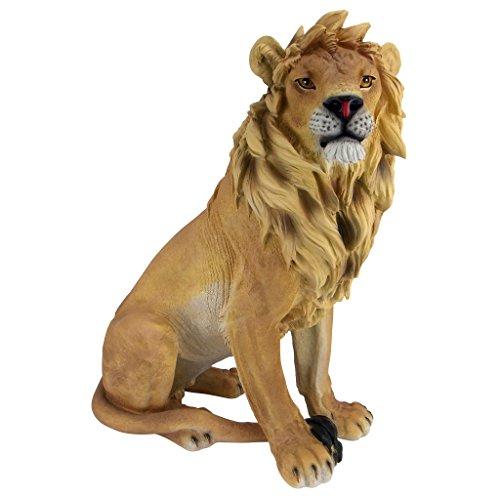 Design Toscano König der Tiere, Löwenskulptur