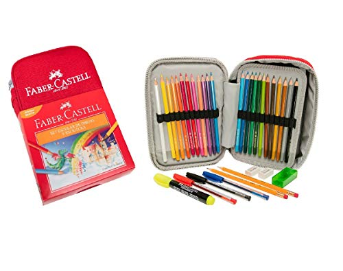 Set Escolar de Dibujo y Escritura Lapicera