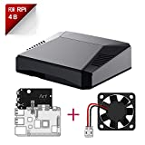 Argon ONE Raspberry Pi 4 Case with Cooling Fan and Power Button | Supports Retro Gaming, Movies, and Music | for...