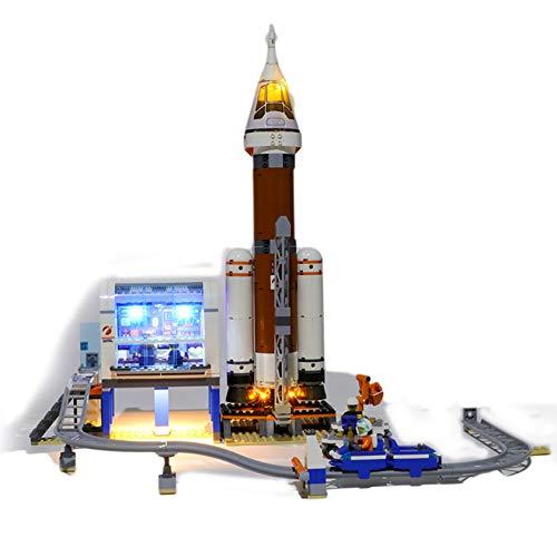 Gycdwjh Compatible con el Kit de iluminación LED Lego City Series 60228,Equipo de Bricolaje (el Producto no Incluye Modelos de Bloques de construcción)