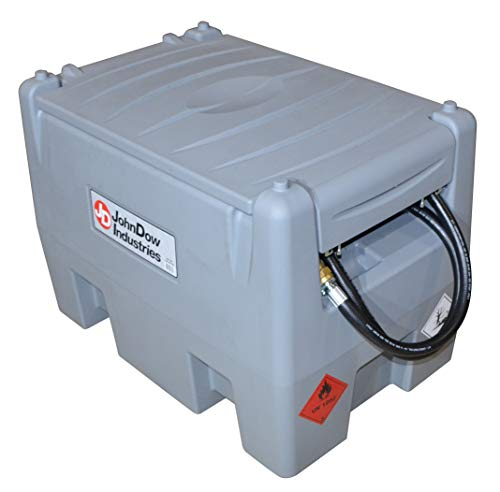 JohnDow Industries JDI-AFT58 58-Gallon Auxiliary Diesel Fuel Tank, with 12 Volt Electric Transfer Pump 1 Pack