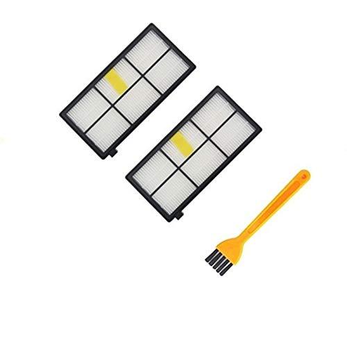 without brand FMN-Home, Filtros HEPA Cepillos Piezas de Repuesto Kit for Roomba 990 900 896 980 886 870 865 866 800 Kit de Accesorios (tamaño : IRobot 800900ZUHE3)
