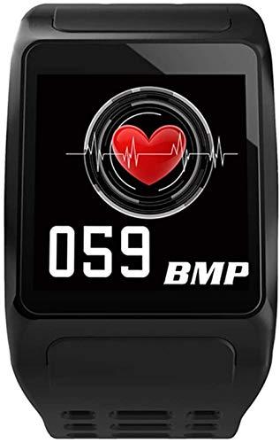 Smart Bluetooth Uhr, IP67 Wasserdicht Quadratisch Bildschirm Multifunktions Schwarz Sportuhr Kalorienzähler Fitness Laufen Armbanduhr