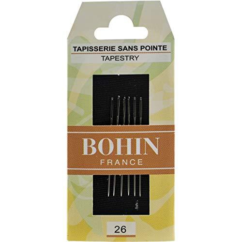 Bohin Tapestry Hand Needles-Size 26 6/Pkg