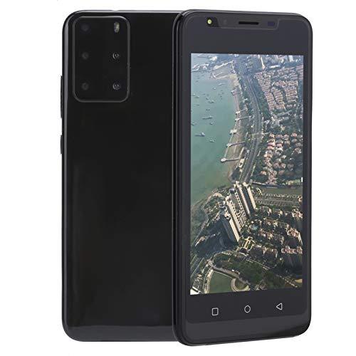 Sorandy Teléfono Móvil Libre 3G, P48 Android Celulares Desbloqueados, Dual SIM Smartphone Libres Baratos, Pantalla HD de 5.0 Pulgadas, 512MB RAM + 4GB ROM [Clase de eficiencia energética A+++](Negro)