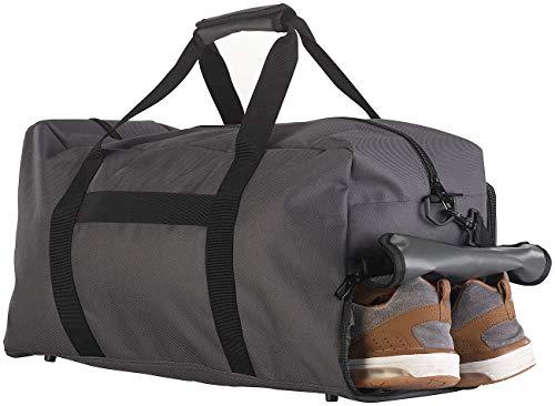 Xcase Koffer Schuhfach: Sport- & Reisetasche, 4 Außenfächer, Schmutzwäsche-/Schuhfach, 40 l (Fitness-Sport-Tasche)