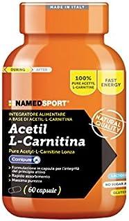 Acetil L Carnitina - Named - Integratore alimentare a base di pure Acetil L-Carnitine Lonza
