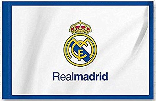 BANDERA REAL MADRID C.F, 0,50 * 0,70 cm