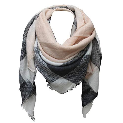 Glamexx24 XXL sjaal gezellige warme geruite sjaal dames poncho sjaal oversized deken sjaal