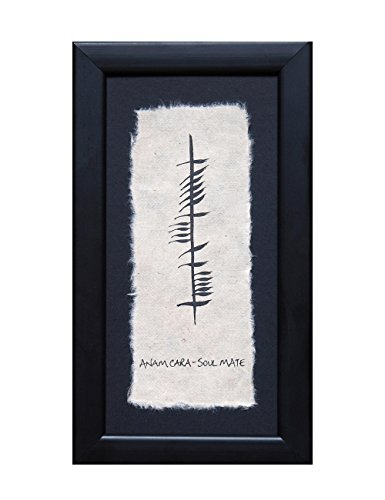 Biddy Murphy Irish Wedding Blessing Wall Decor Soulmate Wall Art Ogham Writing Framed Made in Ireland
