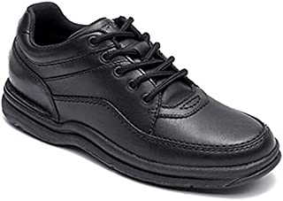 Rockport Men's Comfortable Lightweight Lace Up WT Shoes, Black, 10.5 US