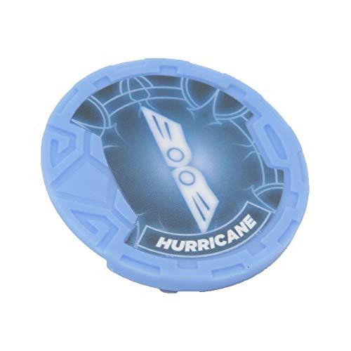 Giochi Preziosi- Gormiti Hurricane Personaggio Articolato con Token, Multicolore, 8 cm, GRM23300