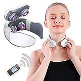 TENS Pulse Machine, Deep Tissue Neck Massage, Back Massager with Heating Function Cervical Vertebra...