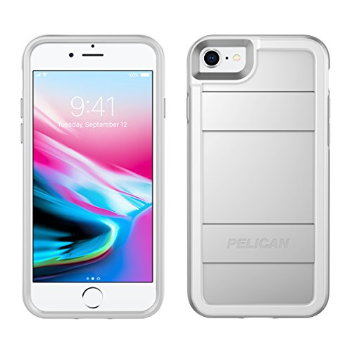 iPhone 8 Case   Pelican Protector Case - fits iPhone 6/6s/7/8 (Metallic Silver)