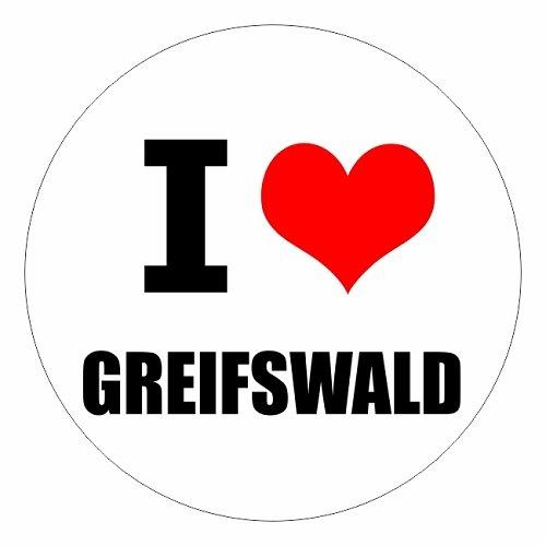 I love Greifswald in zwei Größen erhältlich Aufkleber mehrfarbig JDM Decal Sticker Racing