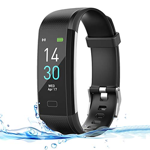 HSW M2 Smart Band Bracelet Watch Bluetooth Smartband Blood Pressure Blood Oxygen Oximeter Heart Rate Monitor Pedometer Fitness Tracker WristBand For IOS Android iPhone Samsung (M2 - Black)