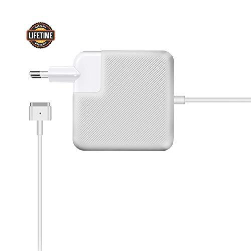 Ronnie 45W Chargeur pour Macbook Air, Remplacement du Chargeur Adaptateur Secteur T-Tip pour 11' 13' Pouces - Mi-2012, 2013, 2014, 2015, 2017 Modèles A1435 A1436 A1465 A1466