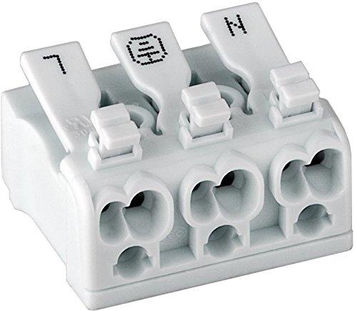 Preisvergleich Produktbild XTC 5 Stück Schnellverbinder Lüsterklemmen für 230-450V,  16A