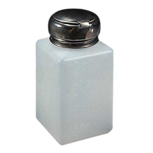 Gemini_mall® Flacon distributeur vide de 200 ml pour dissolvant de vernis à ongles avec pompe