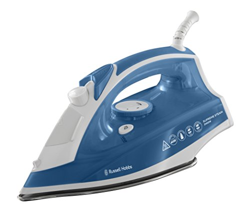 Russell Hobbs 23061 Supreme Steam Traditional Iron, 2400 W - White and Blue by Russell Hobbs