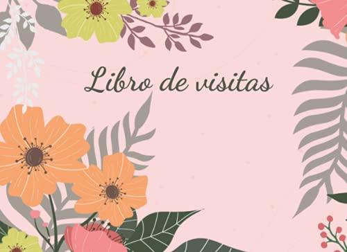 Libro de visitas: Precioso libro de visitas | Registro de invitados para el...