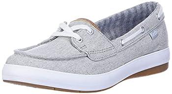 Keds womens Charter Chambray Sneaker Grey 7.5 US