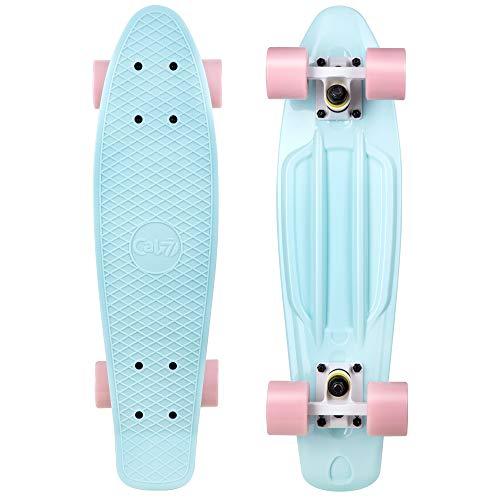 Cal 7 22.5  Complete Mini Cruiser Plastic Skateboard (Lily)