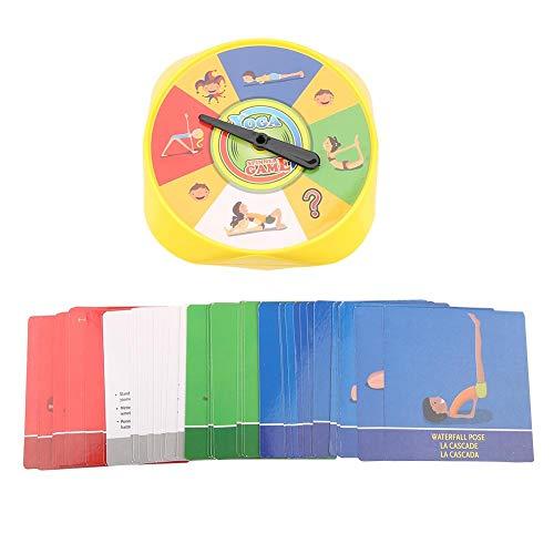 Yoga stelt kinderen kaarten interactief spel voor ouders en kinderen Yoga stelt spelkaarten Interactief yoga stelt spel voor yoga liefhebber