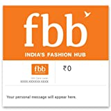 This Gift card is valid for 12 months from date of issue. This Gift Card can be used to purchase any item from Standalone Fashion at Big Bazaar (FBB) stores across India. This Gift card has to be redeemed in full, partial redemption is not allowed. T...