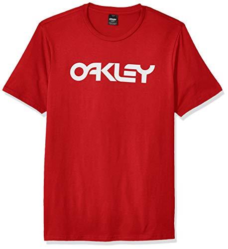 Oakley Mens Mark II tee Camisa, Samba Rojo, S para Hombre