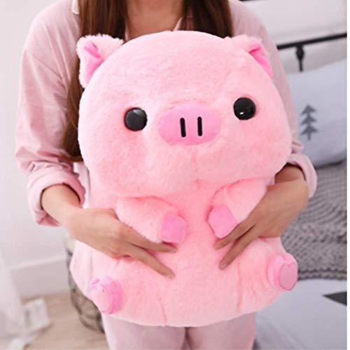 hhxiao Plüschtier Weiches Schwein Große Puppe 40cm Fett Rundes Schwein Plüschtier Kuscheltiere Puppe Baby Schweinchen Kinder Beschwichtigen Kissen Für Mädchen Liebhaber