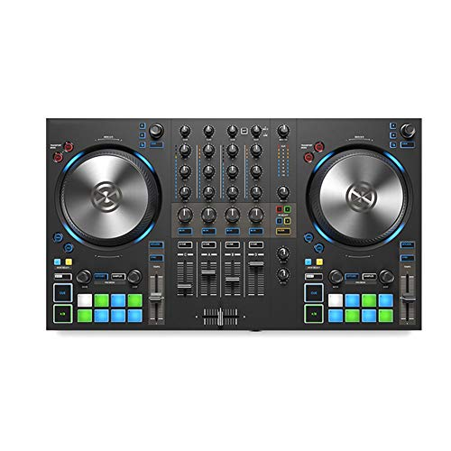 Cheapest Price! LVSSY-DJ Controller Advanced XLR and RCA Main Output Interfaces,and 1/4 TRS Large Th...
