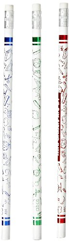 Moon Products Third Graders Are Number 1 - Pack of 12, White - 7863B