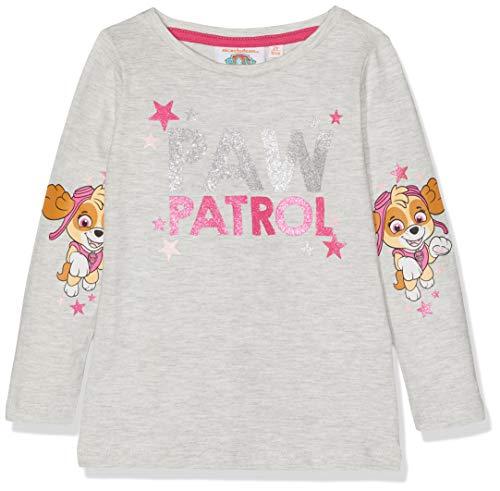 Paw Patrol Mädchen T-Shirt 2272, Grau Gris, 116