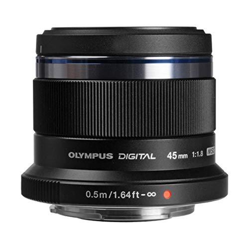 Oferta de Olympus V311030BE000 - Objetivo para Micro Cuatro Tercios ED 45 mm f/1,8 , color negro