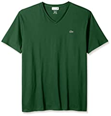 Say hello to your new favorite V-neck tee. Crafted in super-soft Pima cotton, this t-shirt feels luxurious all year round—a staple for any wardrobe. Regular Fit Classic V-neck Soft premium Pima cotton jersey fabric Short sleeves for year-round versat...