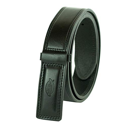 Dickies Men's Big and Tall No-Scratch Mechanic Belt, black, 2X (Waist: 46)