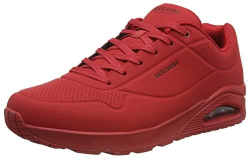 Skechers Uno Stand On Air, Zapatillas Hombre, Rojo, 39 EU
