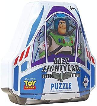 Disney Pixar Toy Story 4 Shaped Buzz Lightyear Tin