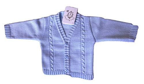 Cardigan Dandelion per neonato, stile bolero, cucito a maglia, da 18 mesi Blue 6-12 Mesi