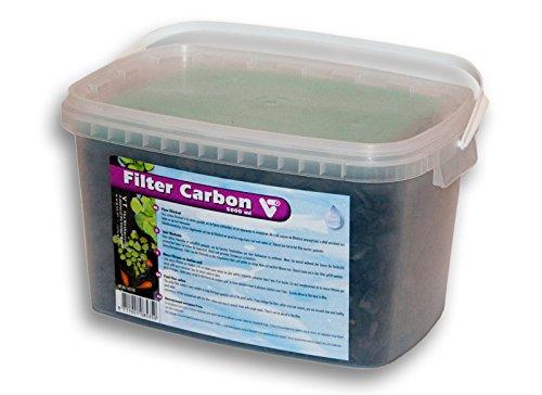 Velda Filterkohle 5000ml Filternetz Aktivkohle Filtermedium Filter Kohle Teich